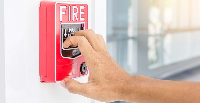 how often fire alarm testing