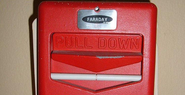 faraday fire alarm